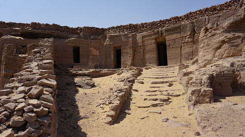 The Tombs of the Nubian Nobles, Qubbet el-Hawa, Aswan, Egypt. | by ER's Eyes