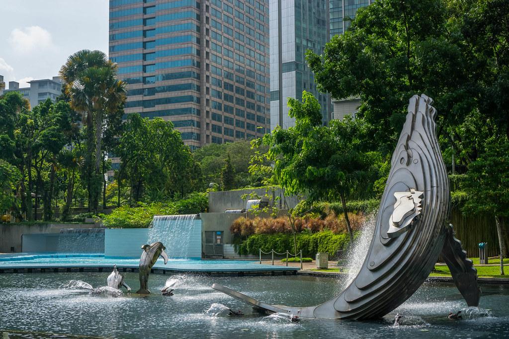 Kuala Lumpur City Centre park