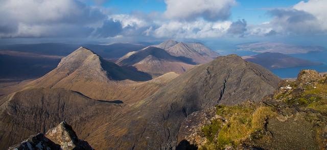 The Red Cuillin ( Isle of Skye)