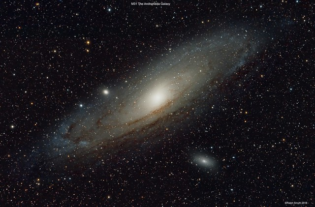 The Andromeda Galaxy Group M31, M110 & M32