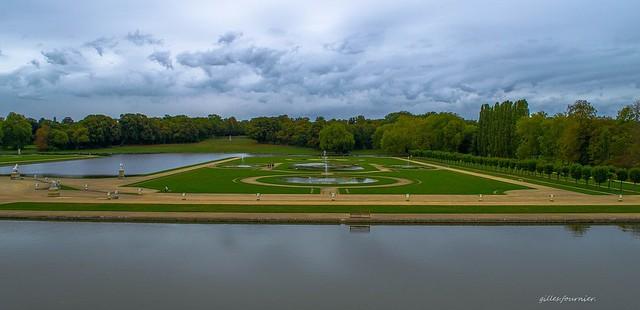 parc du chateau de Chantilly.