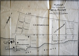 Plan of the village of Mill Point | by Deseronto Archives