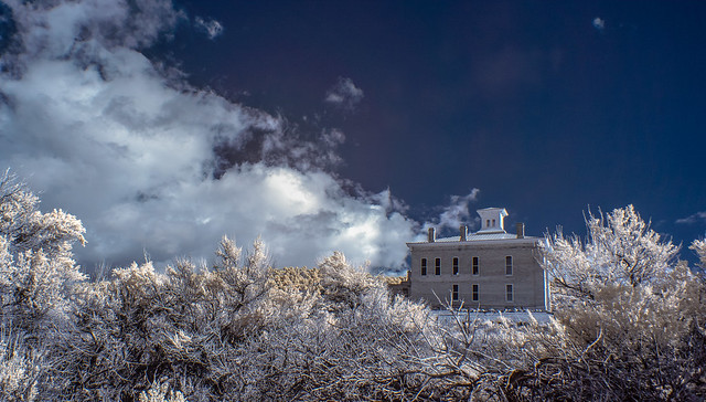 Belmont Courthouse in Infrared