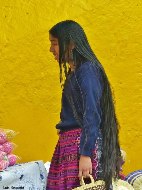 Mujer de San Andrés de Xecul