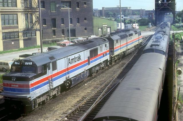 Amtrak P30CH 721