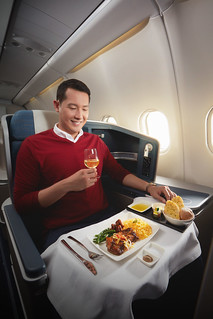 PAL Business Class Full Course Meal | by OURAWESOMEPLANET: PHILS #1 FOOD AND TRAVEL BLOG