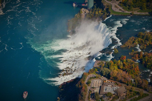 Niagara Falls view from Helicopter