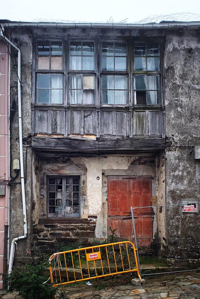 Abandoned building in A Fonsagrada, Galicia, Spain