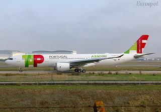 F-WWCP Airbus A330 Neo Air Portugal | by @Eurospot