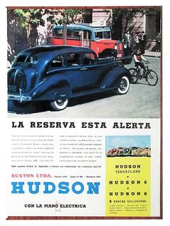 1938 Hudson Ad (Argentina)