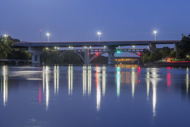 Bridges over the Mississippi River