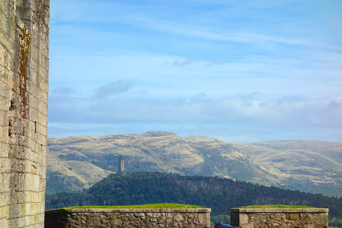 The National Wallace Monument from Stirling Castle | by B-O-K