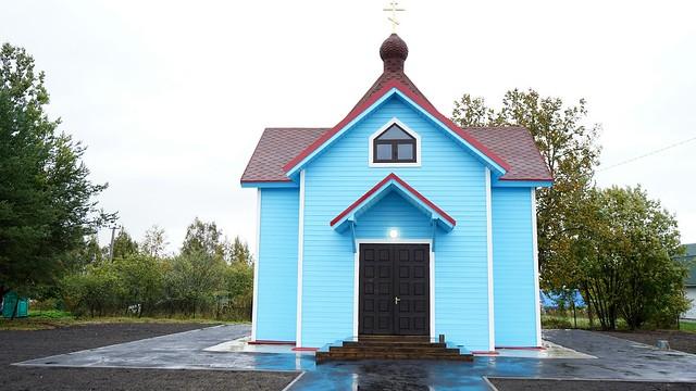 30.09.2018 Освящение храма в Ириновке