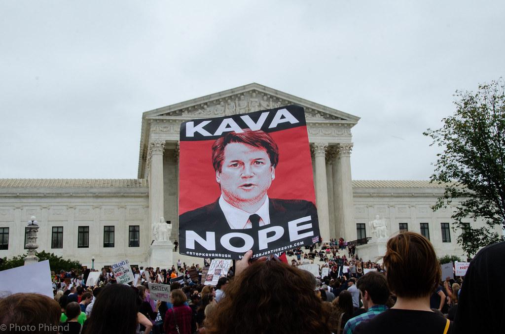 Anti-Kavanaugh protests