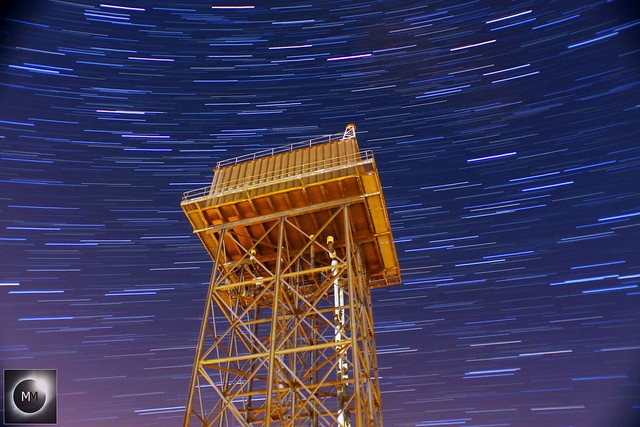 25 Minute Water Tower Star Trails 06/10/18