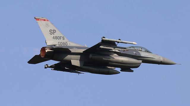USAF F-16CM Fighting Falcon 96-0080
