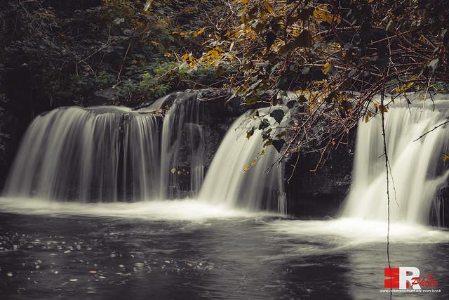 Monte Gelato, waterfalls.