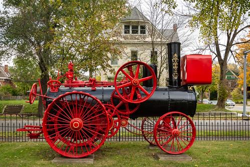 waynet wayne county indiana museum richmond robinson co tractor waynetorg steam historical robinsonco waynecountyhistoricalmuseum waynecounty unitedstates us