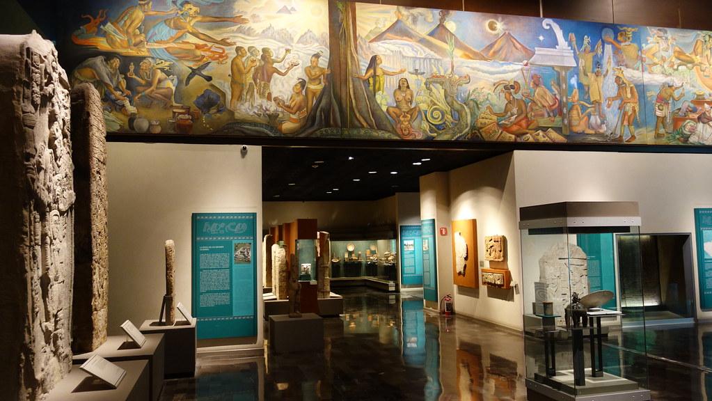 museo de antropologia sala maya