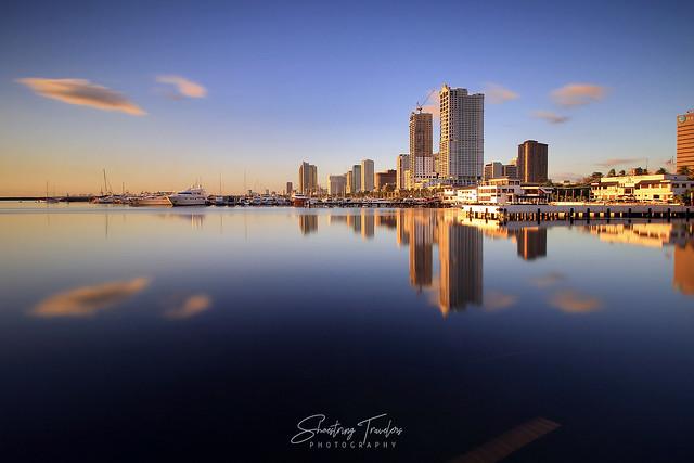 Sunset Hues, Harbor Square