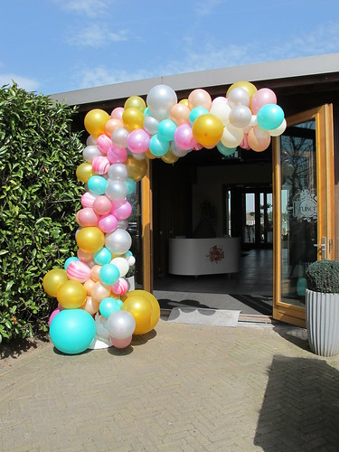 organic arc balloons | by BallondecoNL