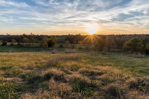 americanhistory battleofrichmond churchillsdraw civilwar kentucky richmond battlefield sunset