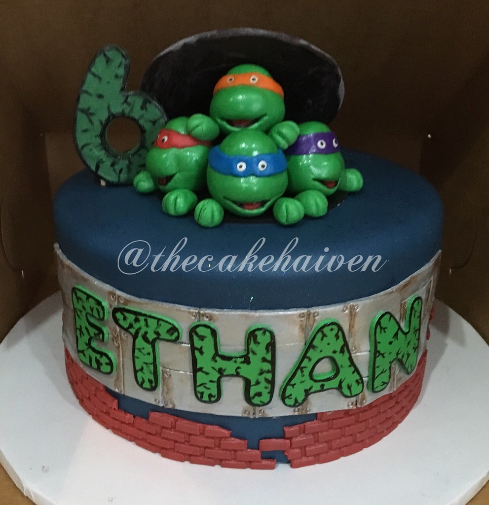 Teenage mutant ninja turtle cake | Sylvia Maldonado | Flickr