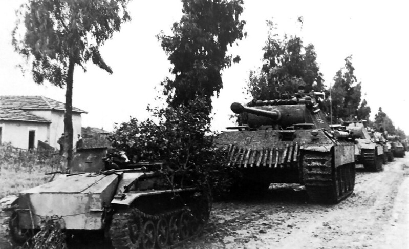 Panther tanks