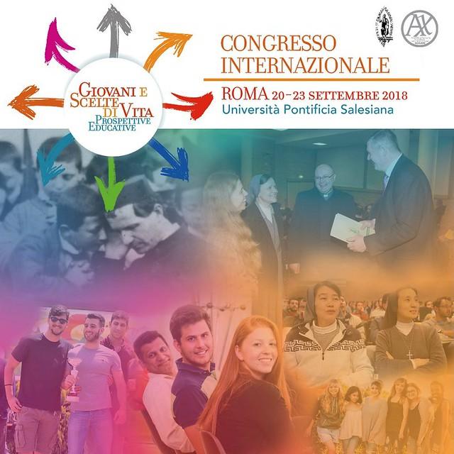 """Congresso Internazionale """"Giovani e scelte di vita: prospettive educative"""""""