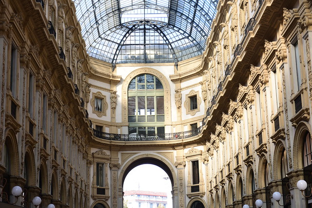 Galleria Vittorio Emanuele II, Milano, Italy, 20 October, 2018 036