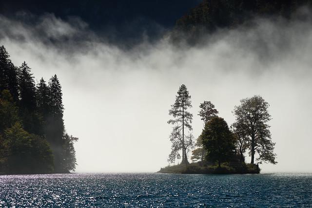 Insel Christlieger  am Königssee - Bayern