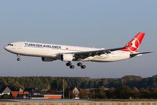 Turkish Airlines - Airbus A330-203 - TC-JOE   by Jesse Vervoort