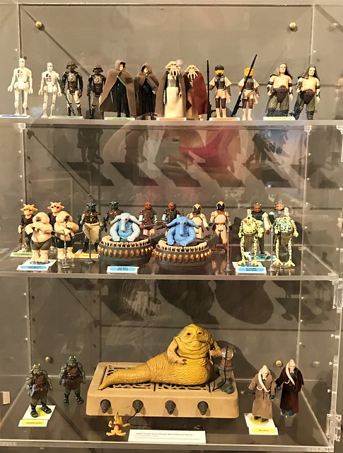 More Return Of The Jedi figures from Jabbas Palace at #MayTheToysBeWithYou, Torquay Museum 19.08.17