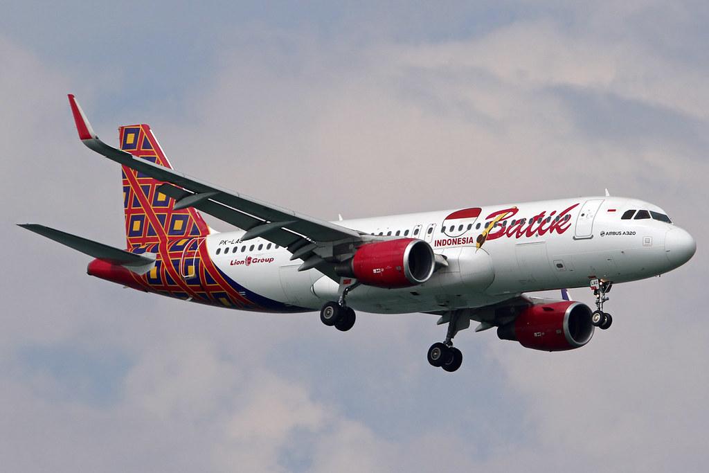 PK-LAG Airbus A320-214/WL Batik Air cn 6280