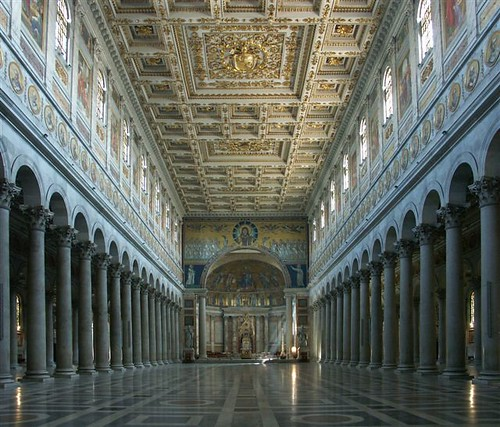 St Paul's Outside the Walls is one of the four great basilicas of Rome | by arthur.strathearn