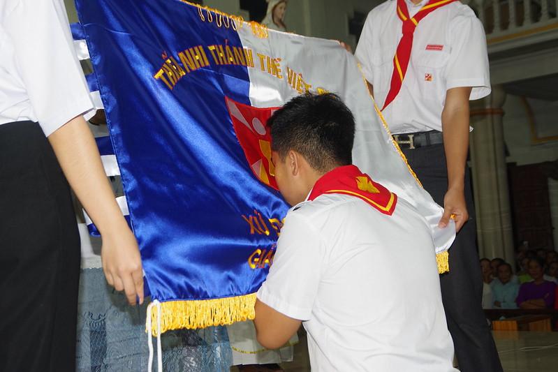 Lễ ra mắt TNTT xứ  đoàn Đa Minh Tân Phong, QB (8)