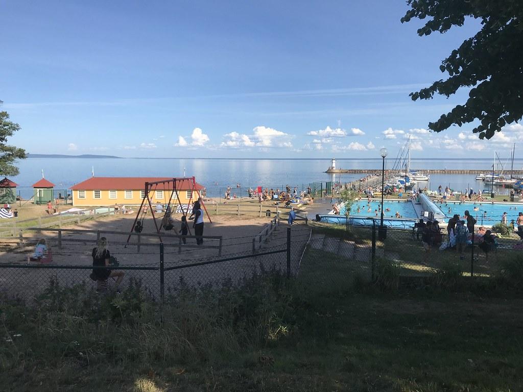 Utsikt från Stadsparken - Picture of Hjo Stadspark - Tripadvisor