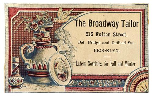 010-Scrapbook of trade cards 1877-1894- Brooklin Museum   by ayacata7