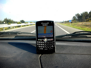 El GPS de la BlackBerry | by edans
