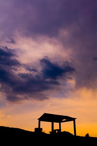 sunset sky colors yellow mexico atardecer colores amarillo cielo silueta lamarquesa