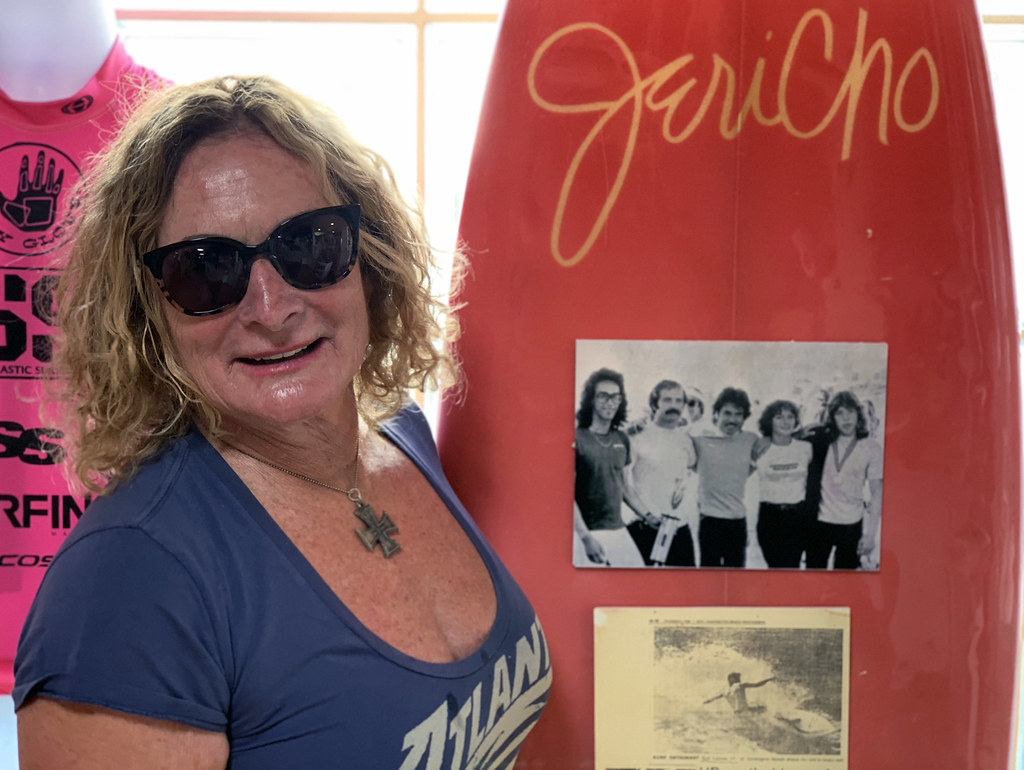 Jericho Poppler | Surf pioneer Jericho Poppler in Huntington