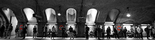 Baker Street,  Circle & Hammersmith & City Line Platforms