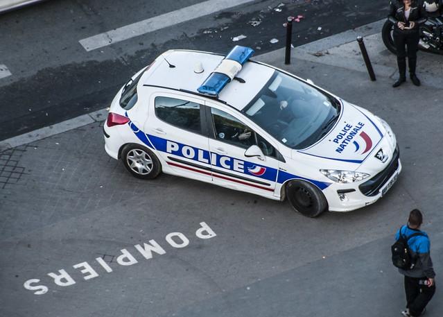 Police Nationale Car - Paris