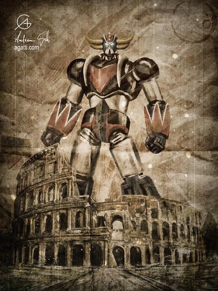 Grendizer Colosseum