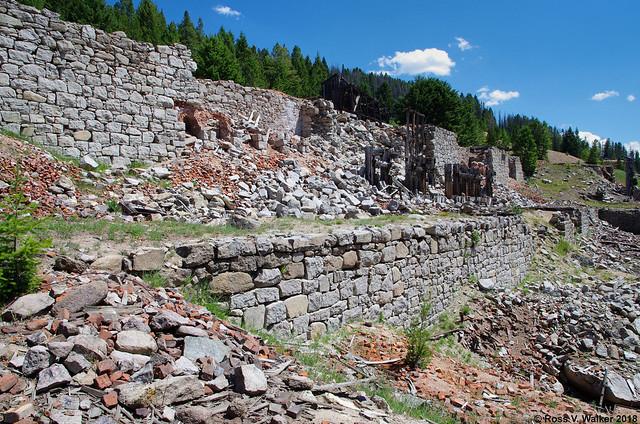Granite Mill Ruins