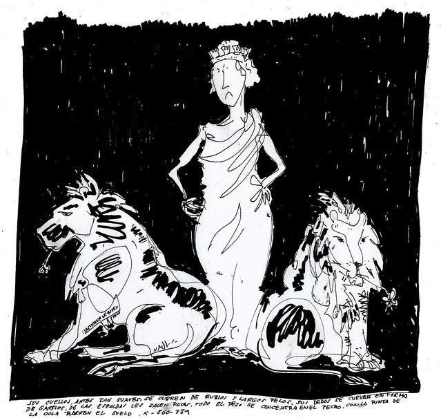 Atalanta, Hippomenes y Cibeles