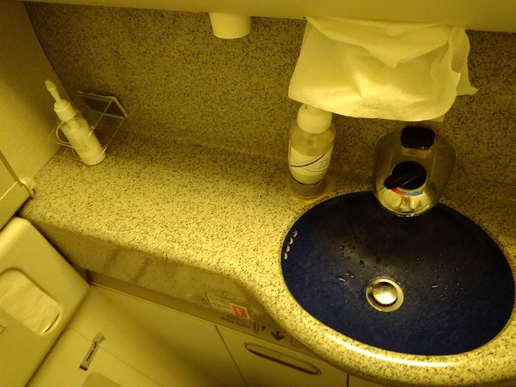 全日空机上洗手间
