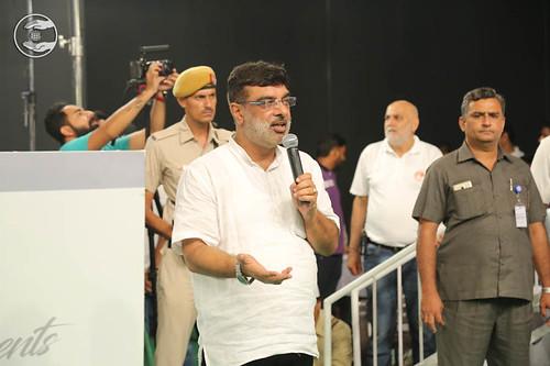 Stage Secretary, Vivek Mauji