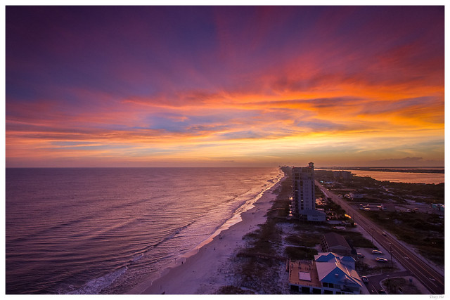 Perdido Beach Sunset - Explore #4