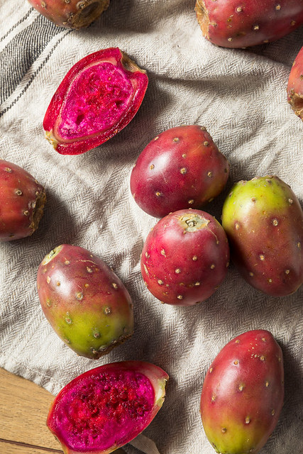 Organic Red Prickly Pears